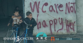 Refugee Kids on Bikes